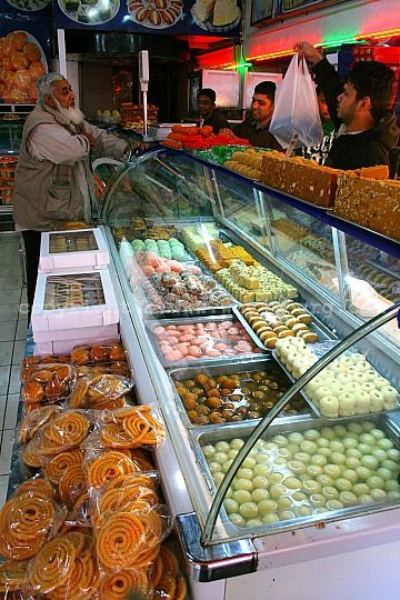 'Shaheen Sweets' in Fordsburg has a great selction of the very sweet Indian sweetmeats!