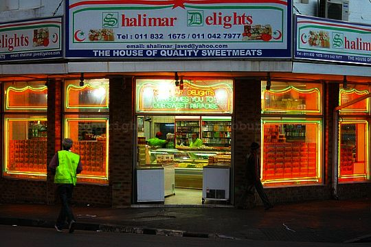 Shalimar Delights - a shop that sells Indian sweetmeats which are especially for those addicted to sugar!