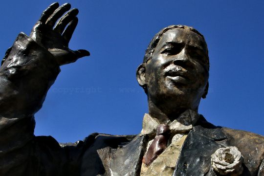 The Long March to Freedom at Maropeng - Walter Rabusana (1858-1936) Co-Founder and Vice-President of the South African Native National Congress (SANNC)