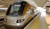 Gautrain high speed train in Johannesburg
