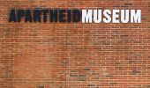 Apartheid Museum sign in Johannesburg