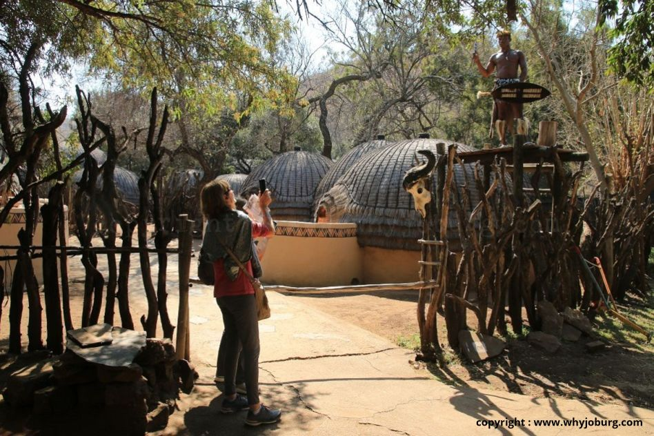 Lesedi Cultural Village near Johannesburg, displays the cultural traditions of 5 Tribes of South Africa