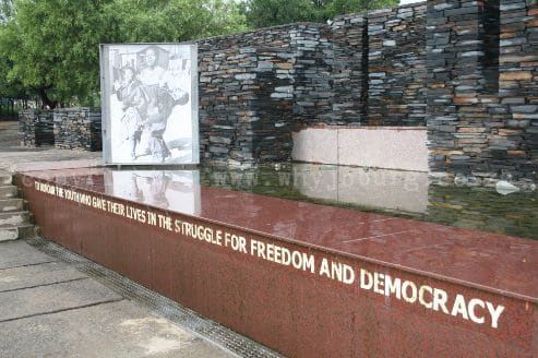 Hector Pieterson Museum and Memorial is dedicated to the 16th June 1976, and the Soweto student uprising