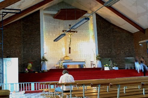 The Regina Mundi Catholic Church in Soweto still bears the scars of the turbulent 1970s and 1980s on its walls.